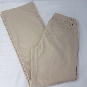 Banana Republic Factory Chino Pants Khaki 4 R